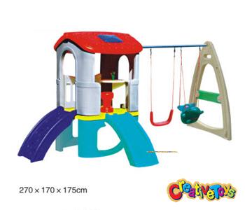 Swing And Slide Children Plastic Swing And Slide Kids